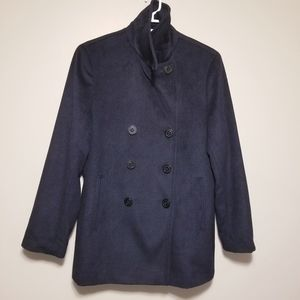 Calvin Klein Wool Cashmere Double Breasted Jacket